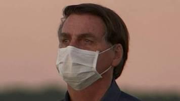 Corona-Pandemie: Brasiliens Präsident Bolsonaro erneut positiv getestet – von Einsicht keine Spur