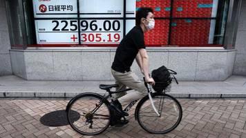 Nikkei, Topix & Co: Asiatische Börsen schwächeln trotz guter Wirtschaftsdaten aus China