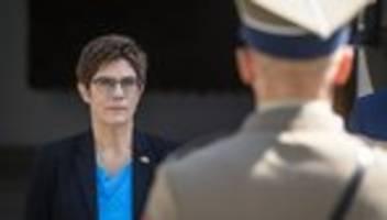 annegret kramp-karrenbauer: verteidigungsministerin will andere richtgröße für nato-beitrag