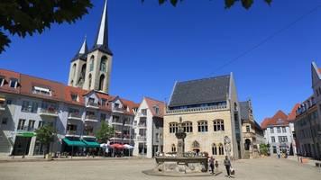 bürger entscheiden bei stichwahl über ob in halberstadt