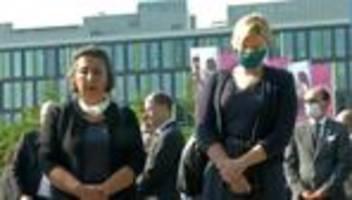 münchen: gedenken an die opfer des amoklaufs im olympia-einkaufszentrum