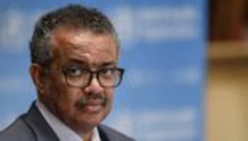 tedros ghebreyesus: who-chef wehrt sich gegen vorwürfe von mike pompeo