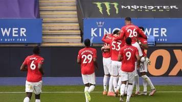 premier league: man united und chelsea für champions league qualifiziert
