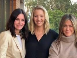 Kudrow, Cox und Aniston: Friends-Stars werben für US-Wahl