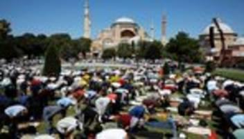 moschee hagia sophia: die größte prüfung seit 1934