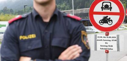 tirol führt regionales fahrverbot im bezirk reutte wieder ein