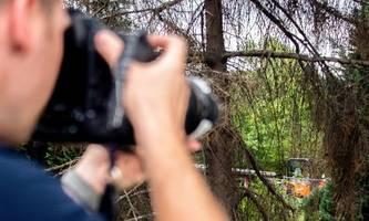 fall maddie: polizei durchsucht weiter kleingarten in hannover