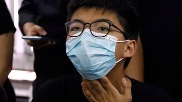 Umstrittenes Sicherheitsgesetz: Joshua Wong von Wahl in Hongkong ausgeschlossen