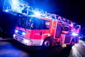 Brände: 48-Jähriger bei Brand in Osnabrücker Wohnung schwer verletzt