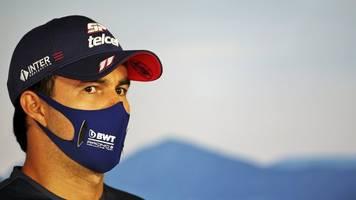 Kein Start in Silverstone: Formel-1-Pilot Perez positiv auf Coronavirus getestet