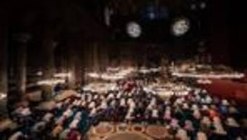 Türkei: Erste Gebete in der Hagia Sophia