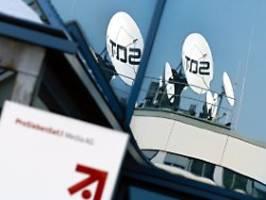 Konzern schreibt rote Zahlen: ProSiebenSat.1 brechen die Werbeerlöse weg