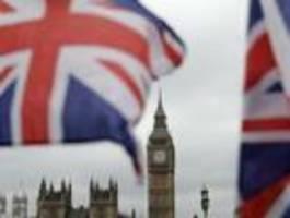 Britische Wirtschaft um ein Viertel abgestürzt