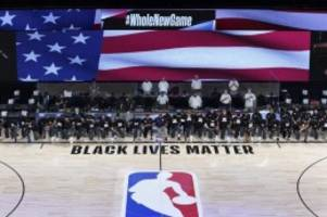 nordamerikanischer basketball: proteste bei der hymne und enge duelle: die nba ist zurück