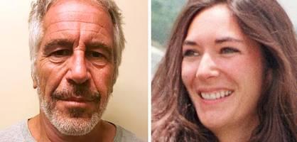 """""""Du hast nichts Falsches getan"""", schrieb Epstein seiner Vertrauten"""