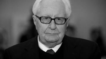 beerdigung von spd-politiker vogel im familienkreis