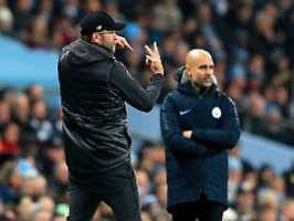 Lob von der Konkurrenz: Guardiola: Klopp ist mein schwerster Gegner