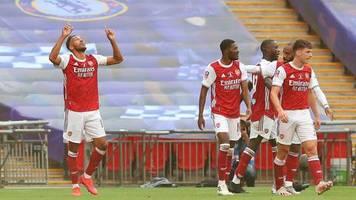 Fußball: Aubameyang schießt den FC Arsenal zum Gewinn des FA Cup