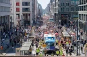 Demonstration: Protest-Wochenende in Berlin - die Bilder
