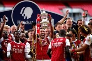 fa cup: arsenal dank aubameyang pokalsieger: sieg gegen chelsea