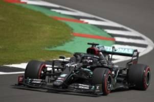 Formel 1 in Silverstone: Hamilton schockt Konkurrenz - Mercedes in eigener Liga