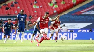 Doppelpack des Ex-Dortmunders - Arsenal gewinnt FA Cup dank Aubameyang mit 2:1 gegen Chelsea