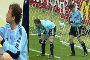 wm 2006: wen jens lehmann gegen argentinien auf dem zettel hatte