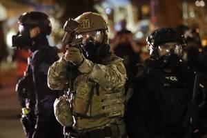 Donald Trump will Bundespolizisten nicht aus Portland abziehen
