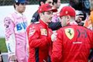 Formel 1 in Silverstone - Vettel erlebt ein Horrorwochenende, Leclerc zeigt im Ferrari was er kann
