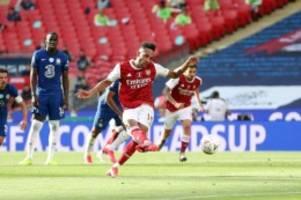 Nach FA-Cup-Sieg: Arsenal-Coach Arteta glaubt an Aubameyang-Verbleib in London