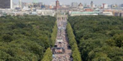 """reaktionen auf berliner corona-demo: """"die eingriffsschwelle war hoch"""""""
