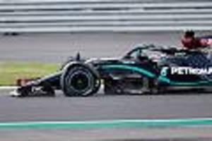 Formel 1 in Silverstone - Hamilton, Bottas und Sainz platzt der gleiche Reifen zur gleichen Zeit