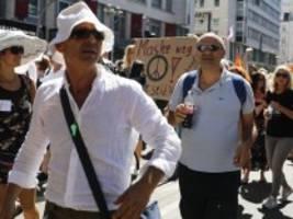 Corona-Proteste: Regierung ermahnt Demonstranten