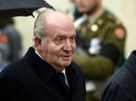 EIL: Ehemaliger König Juan Carlos verlässt Spanien