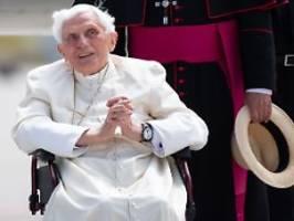 Letzte Ruhestätte steht fest: Benedikt XVI. ist schwer erkrankt