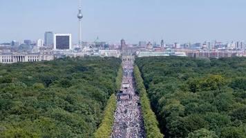 Faktencheck: Mehr als eine Million auf Demo gegen die Corona-Maßnahmen?