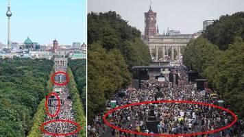 Faktencheck Berlin-Demo: 1,3 Millionen bei Corona-Protest? Auf diese Fakes sollten Sie nicht reinfallen