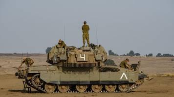 nahostkonflikt - zwischenfälle an israels grenzen: militär vereitelt anschlag