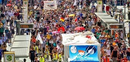 Klopapier-Industrie steckte hinter Corona-Demo in Berlin