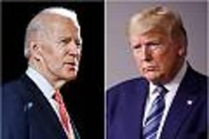 """Präsidentschaftswahl im News-Ticker - Kann Biden Trump ablösen? Meinungsforscher sieht """"klare Unterschiede zu 2016"""""""