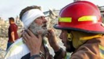 Explosion in Beirut: Mehrere Länder sagen dem Libanon Hilfe zu