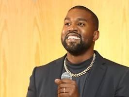 Lebenscoach für Spiritualität: Kanye West ernennt seinen Running-Mate