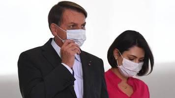 infektionszahlen in brasilien steigen: bolsonaro: ich habe schimmel in meinen lungen – aber er macht weiter wie bisher