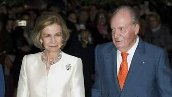 Juan Carlos I.: Königin Sofia ist in Madrid geblieben