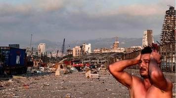 Libanon: Zwei heftige Explosionen erschüttern Beirut – mindestens 30 Tote und 2500 Verletzte