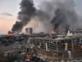 Diese Aufnahmen zeigen die massive Wucht der Explosion