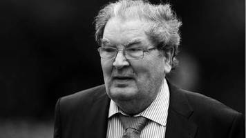trauer: friedensnobelpreisträger john hume gestorben