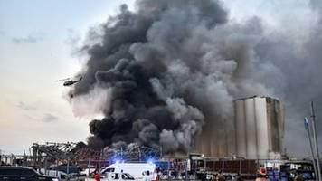 USA bieten dem Libanon nach Explosionen in Beirut Hilfe an