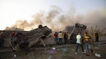 Ursache unklar - Explosion in Beirut: Mindestens 50 Tote und 2700 Verletzte