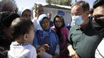 Armin Laschet im Flüchtlingslager Moria – ein Gerücht zwingt ihn zum Gehen